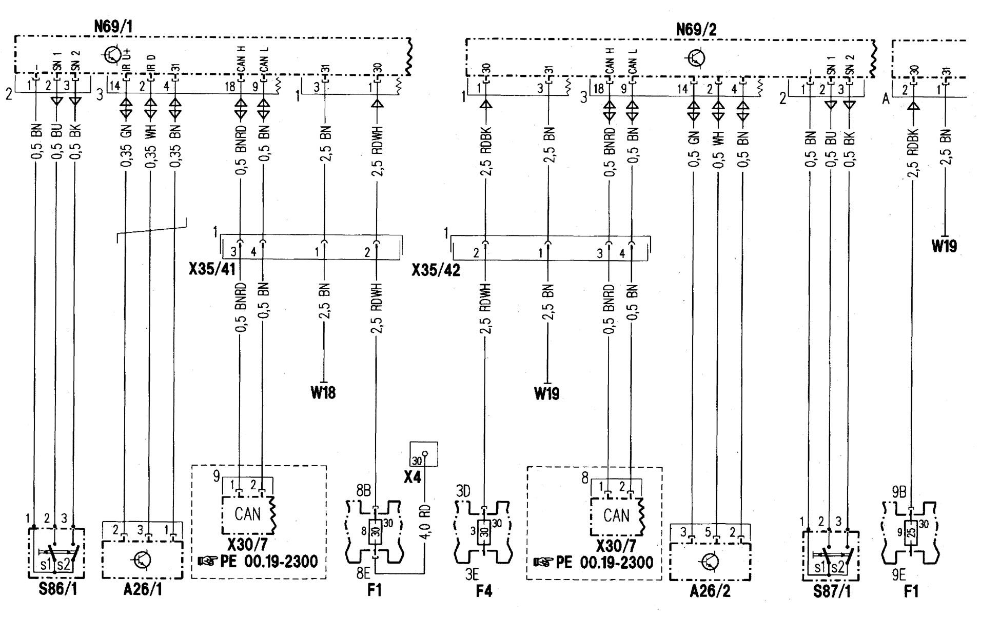 Mercede Benz 2006 C230 Fuse Box Diagram