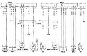 MercedesBenz C280 (1998)  wiring diagrams  power locks