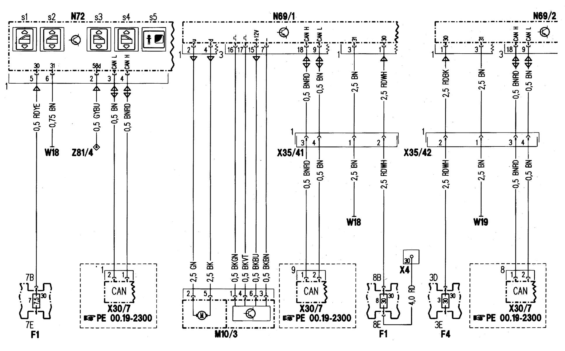 94 E420 Mercede Benz Wiring Diagram