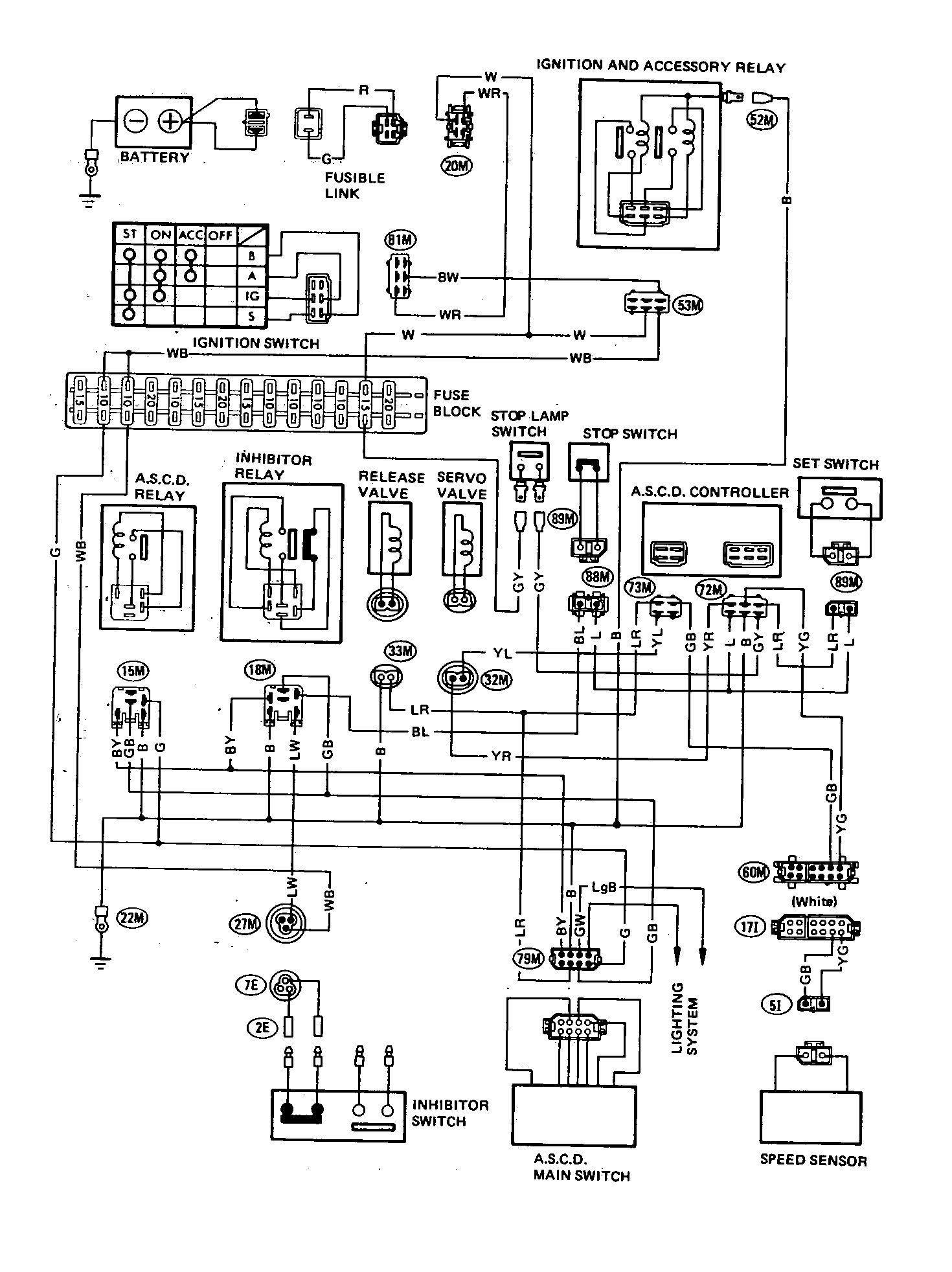 hight resolution of datsun 200sx 1980 wire diagram automatic speed control device