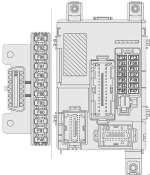 Fiat Doblo (2010 – present) – fuse box diagram  CARKNOWLEDGE