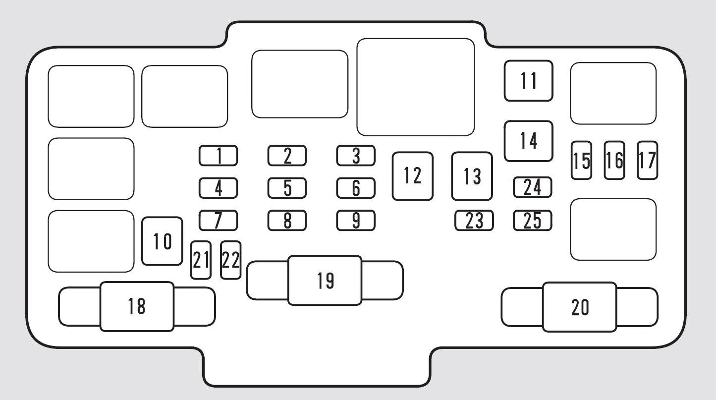 hight resolution of honda civic fuse box diagram engine compartment