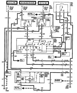 GMC Sierra 1500 (1995) – wiring diagrams