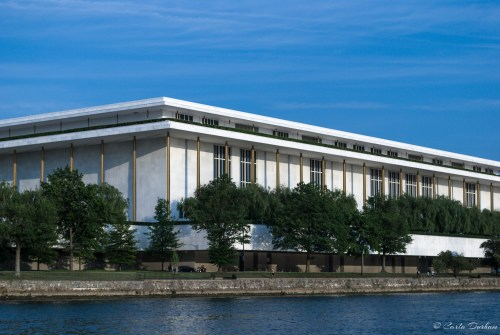 John F. Kennedy Center for the Perfoming Arts from the Potomac River