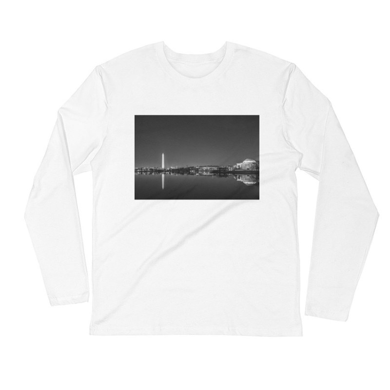 Washington-DC-skyline-night-long-sleeve-white