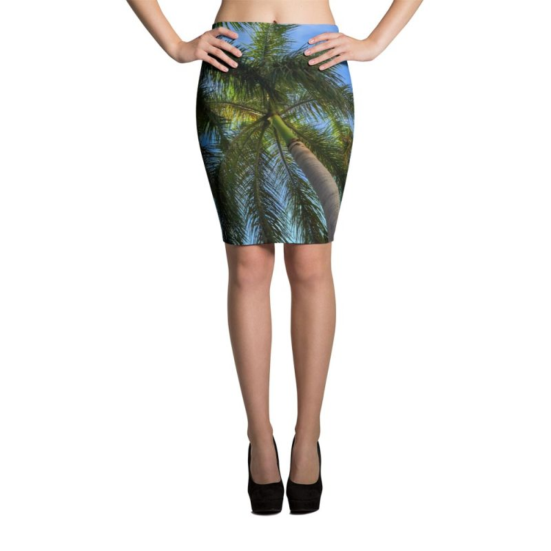 palm-tree-pencil-skirt-front