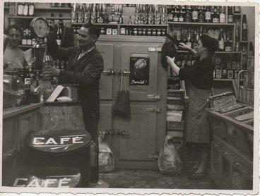Image de la première boutique de Roubaix fondée en 1949