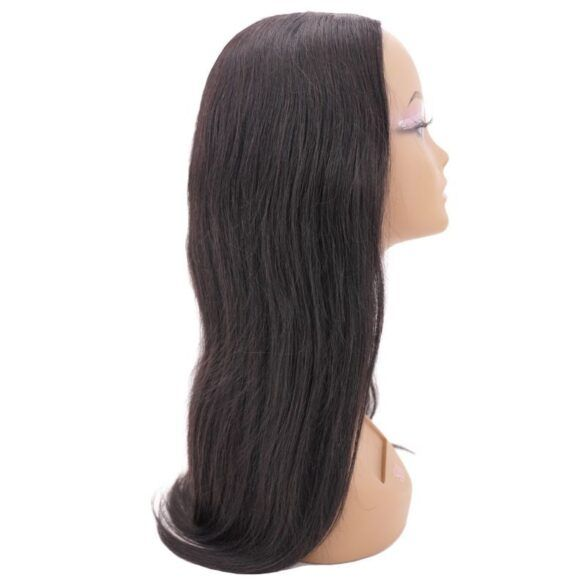 Brazilian Silky Straight U-Part Wig (side)