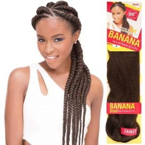 Janet Collection Banana Braid Hair 86 Inches