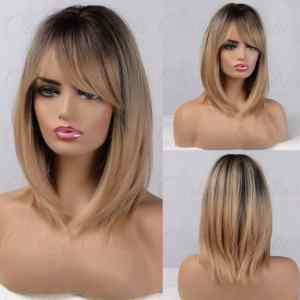 Blonde Ombre Naturally Layered Synthetic Wig