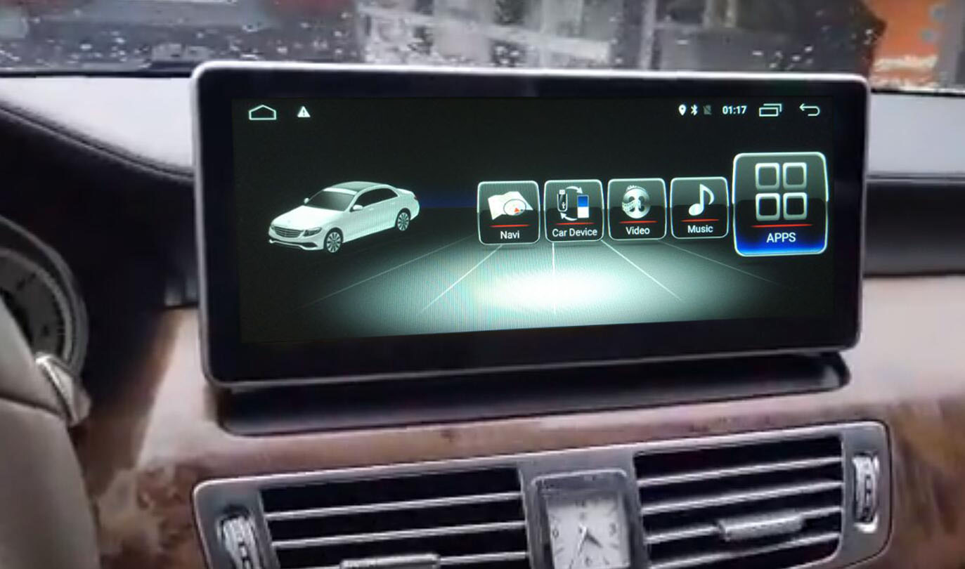 10 25 inch android 8 screen for Benz CLS ntg4&ntg4 x&ntg5 x