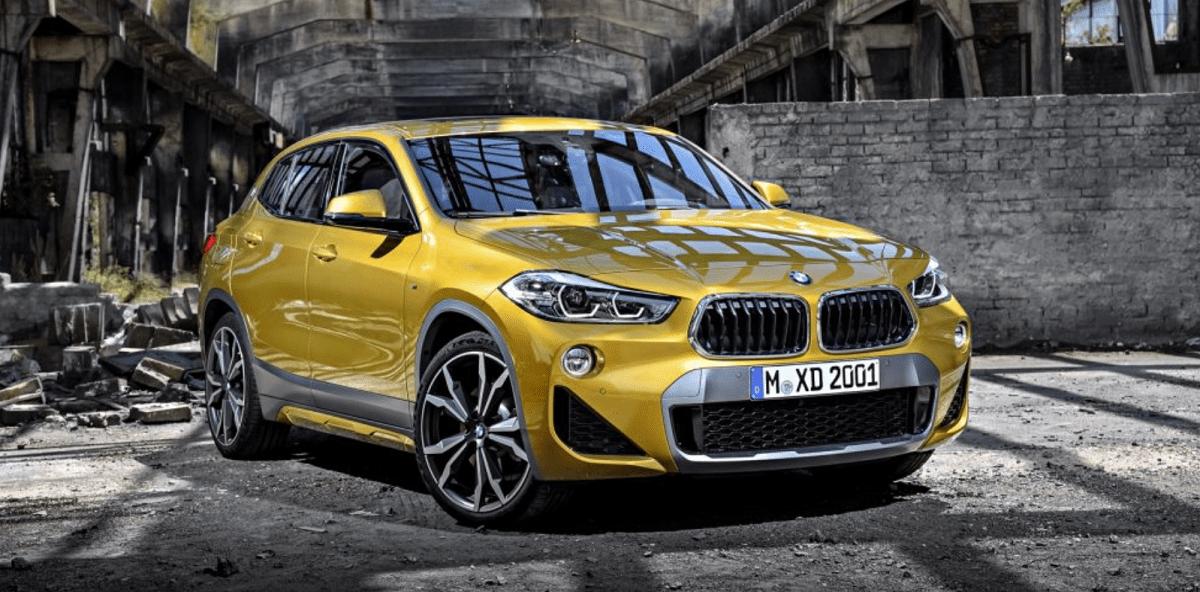Oplev den nye BMW X2