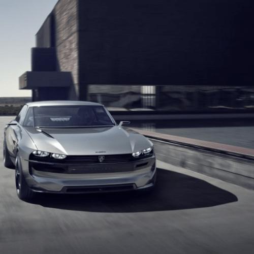 Ny Peugeot e-LEGEND: Muskelbil med elmotor