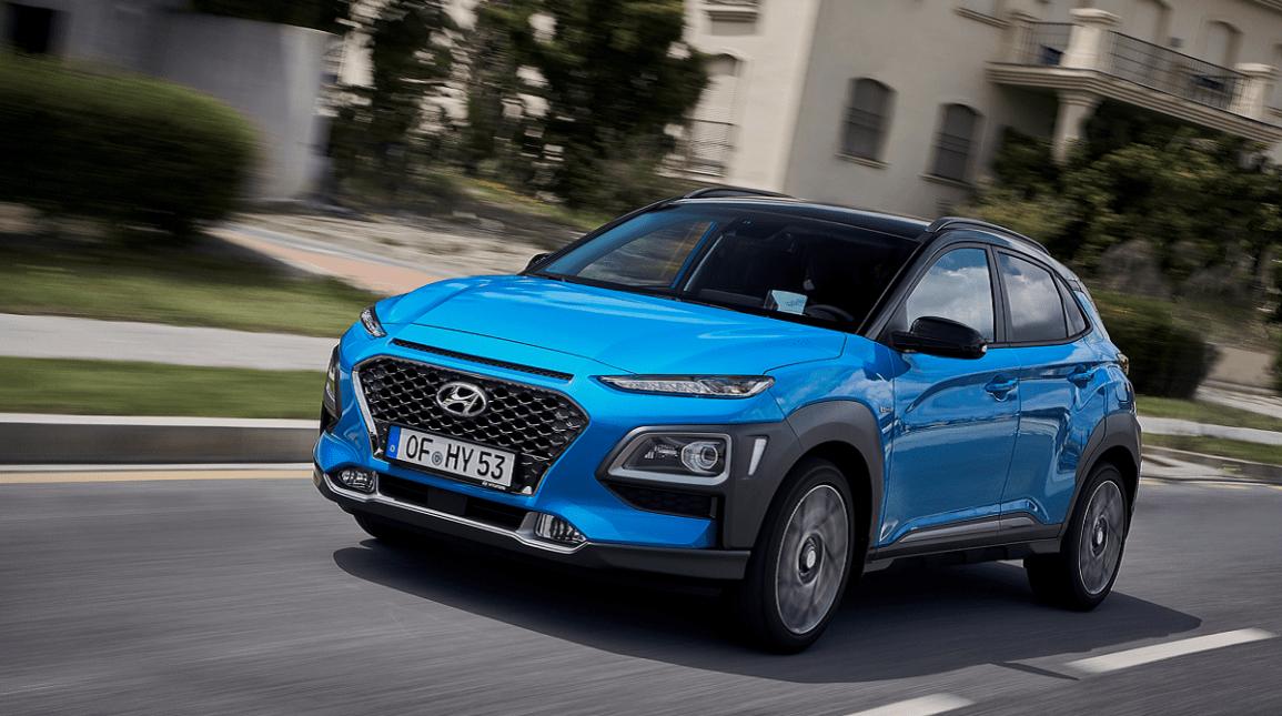 Hyundai KONA klar som  hybrid