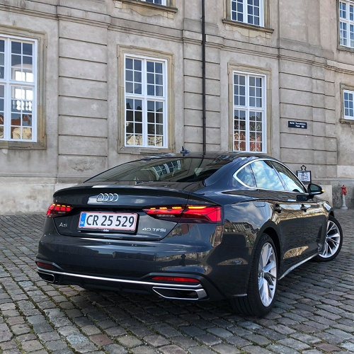 Test: Audi A5 Sportback Advanced Prestige Plus 40TFSI 190hk
