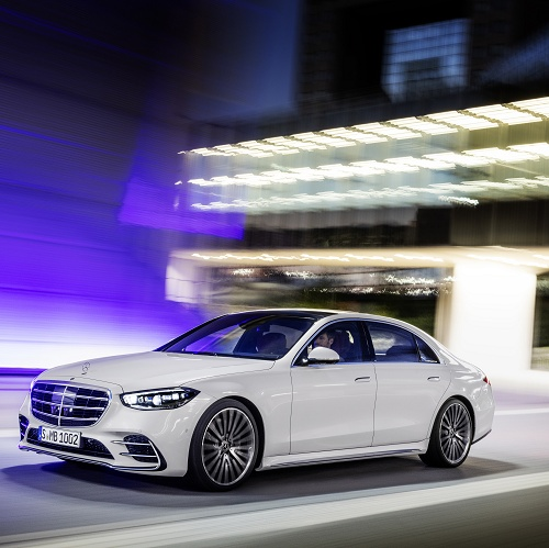 Mercedes-Benz S-Class 2020 diamond white