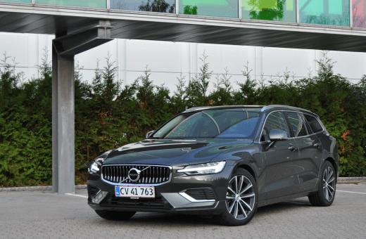 Test: Volvo V60 T6 Recharge