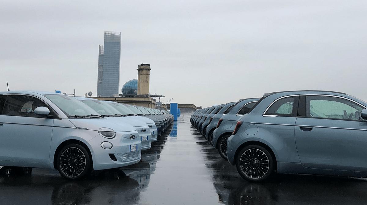 Elektrisk Fiat 500e kan privatleases fra 2.995 kr.