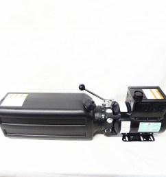 challenger cl10 cl10v3 power unit motor hydraulic pump for car lift  [ 1000 x 1000 Pixel ]