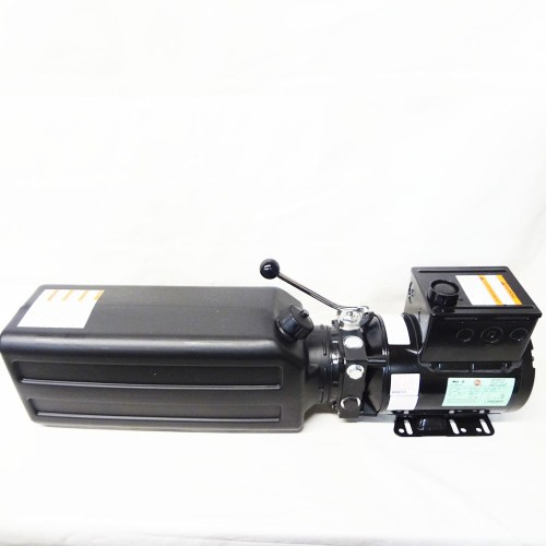 small resolution of challenger cl10 cl10v3 power unit motor hydraulic pump for car lift
