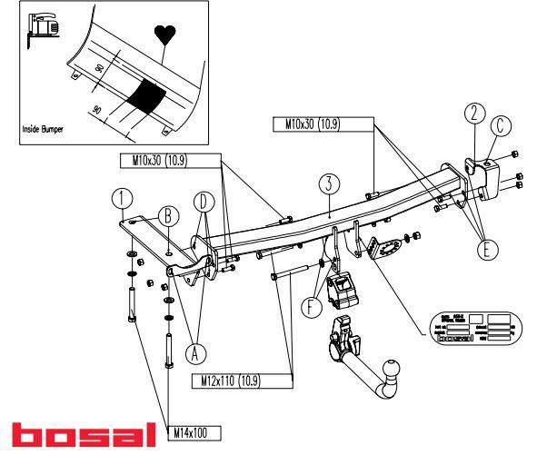 Carlig remorcare demontabil Land Rover Freelander II SUV