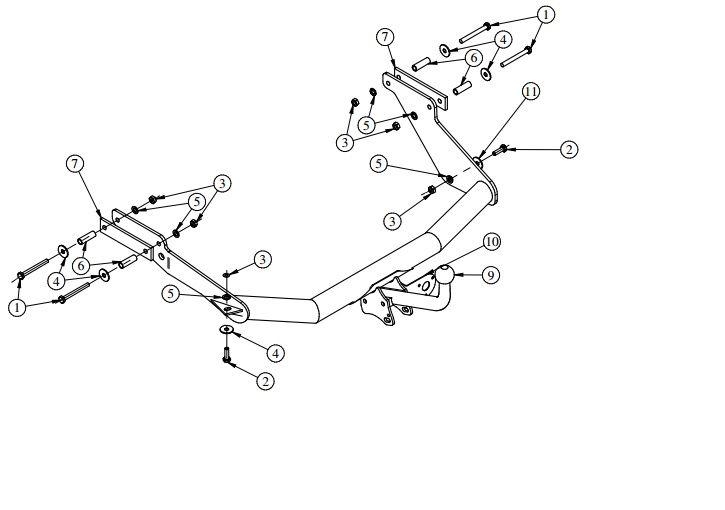 Carlig auto Citroen Xsara Picasso