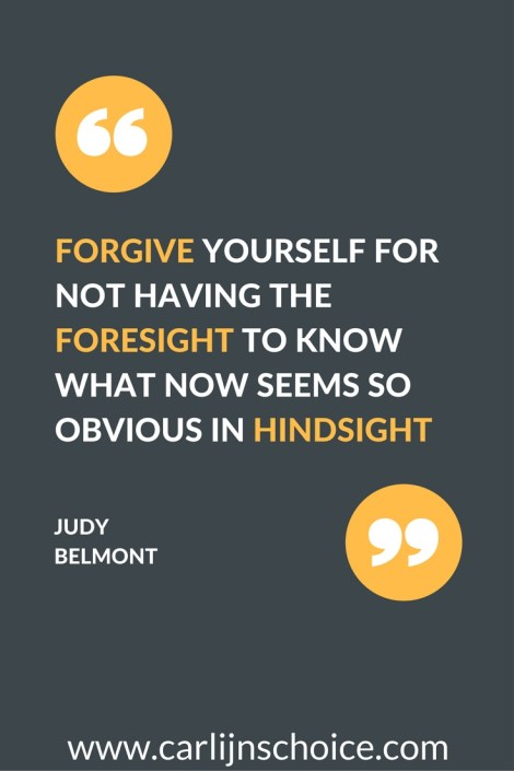 quote forgiving yourself nagging voice #carlijnschoice