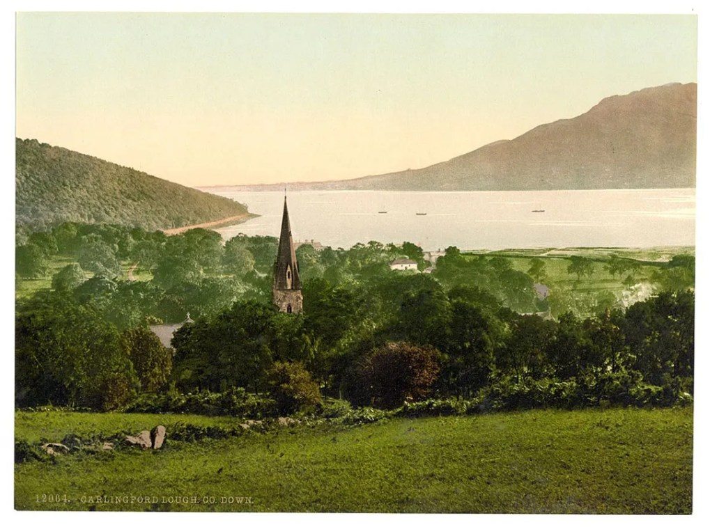 Old View of Carlingford Lough