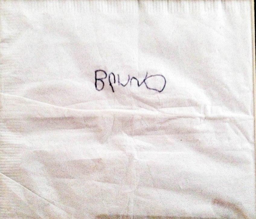 Esprit Lounge napkin back