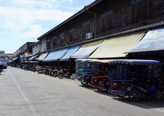 Market area.