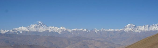 5 peaks above 5000m. The photo does not give justice to the amazing view.