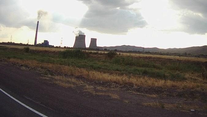 Coal fire power plant.