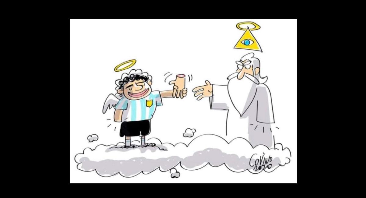 """La """"restituzione"""" della """"mano de Dios""""…"""