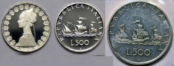 Monete Da 500 Lire Quanto Valgono In Argento Caravelle