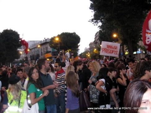 NO al PONTE ! -02/10/2010-096