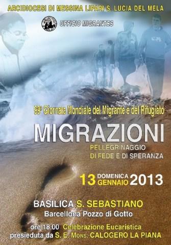 99ª Giornata Mondiale Migrazioni