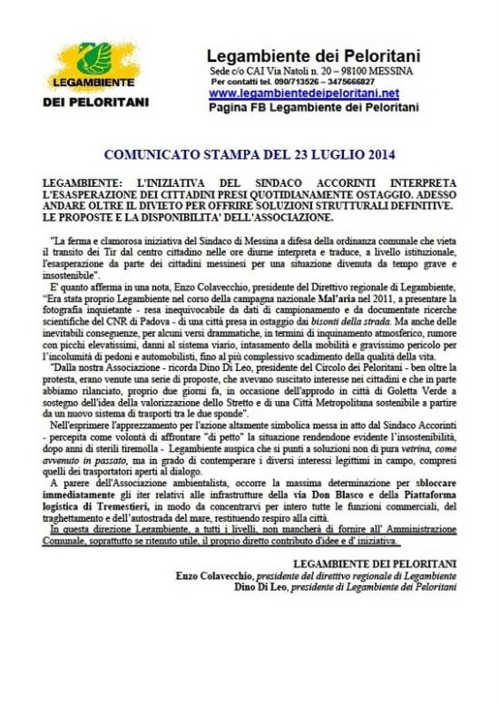 2014_07_23-LAP-comunicato tir