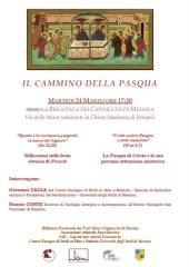 IL CAMMINO DELLA PASQUA-24.03.15