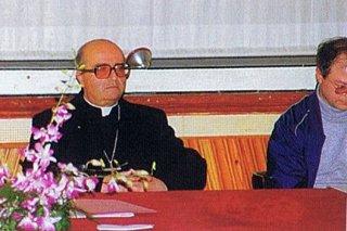 Vescovo Ignazio -padre La Rosa