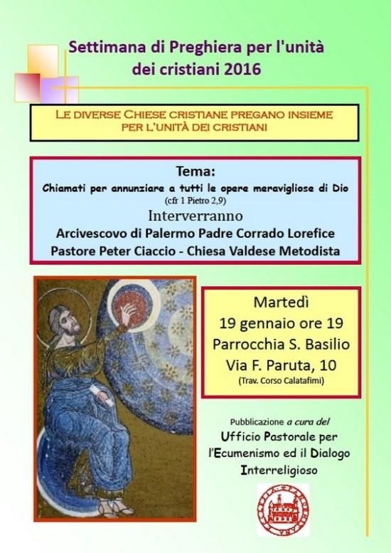 Palermo-SettimanaUnitàCristiani