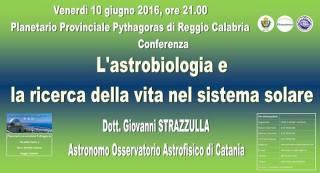 10 giugno 2016 Dott. Strazzulla al Planetario