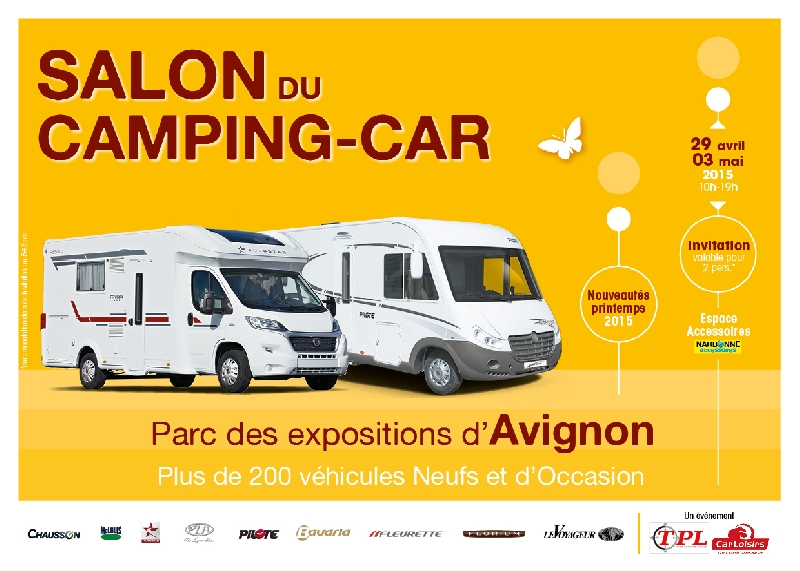 Salon du Camping  Car d AVIGNON 2015