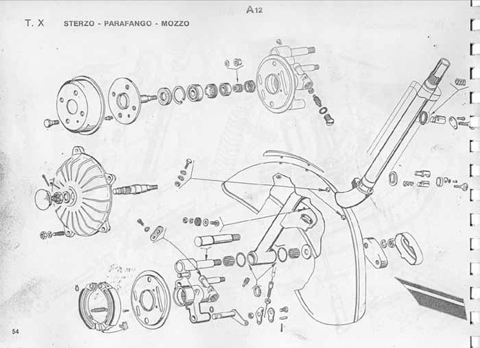 Manuale d'officina Vespa 50/ Special / Primavera / ET3