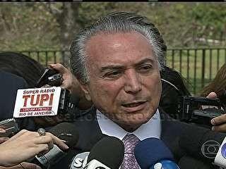 Temer/Foto: G1/Reprodução TV Globo