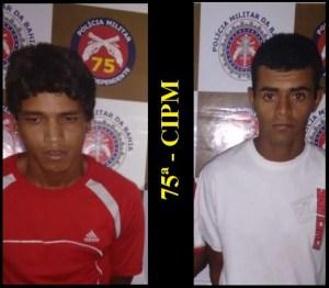 Prisão de Traficantes em Flagrante Delito