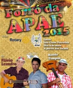 Forro APAE 2015