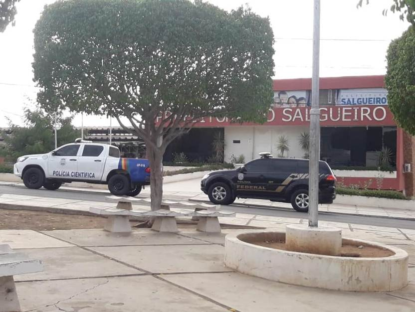 Resultado de imagem para Policia Federal Prefeitura de Salgueiro