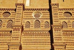 Detalle decoración mudéjar (Aniñón)