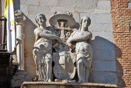 Detalle de la Fachada Palacio Arzobispal