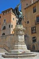 Plaza de San Martín - Estatua de Juan Bravo